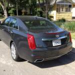A new exterior design for the 2014 Cadillac CTS features sharper lines.