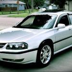 The 2000 eighth generation Chevrolet Impala.