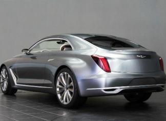 A Hyundai concept car will makes in debut at the Pebble Beach Concours d'Elegance