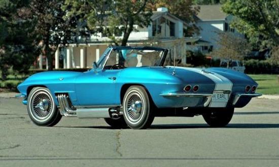 Rare 50-year-old Corvette set for pending Mecum Auction