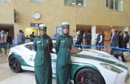 Bugatti Veyron as a police car? Sure, in Dubai