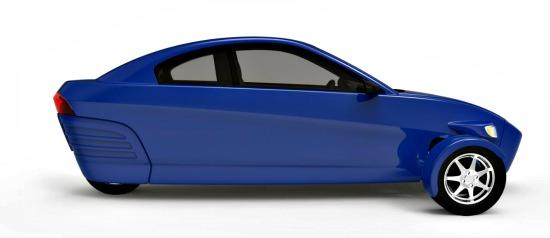 The concept for the planned Elio Motors 3-wheeler planned in 2015
