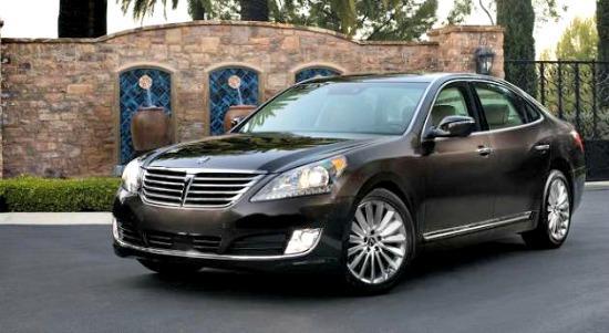2014 Hyundai Equus: More luxury, less cost