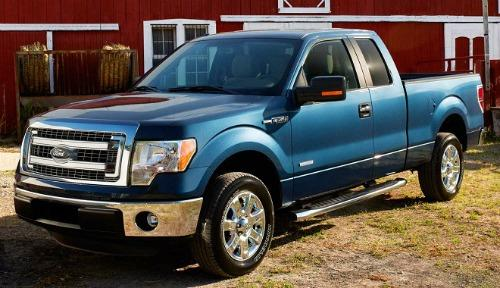 The 2014 Ford F-Series was again the country's top seller in 2014.
