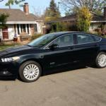 The 2014 Ford Fusion Energi has sleek exterior styling.
