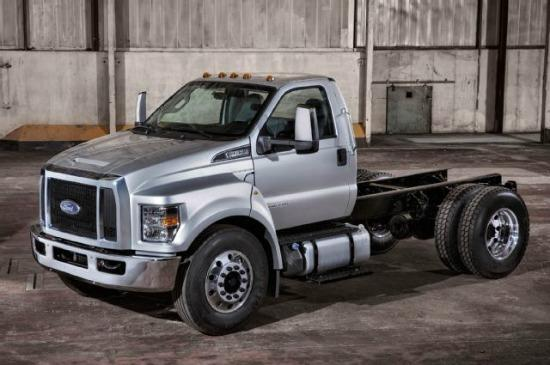 PREVIEW: 2016 updated Ford F-650, F-750 series 2
