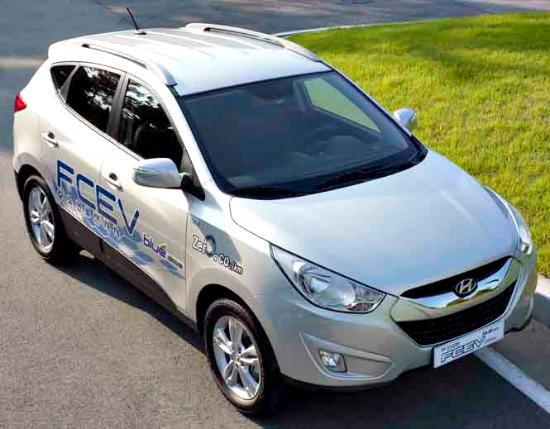 Hyundai full-speed ahead with hydrogen Tucson in 2014