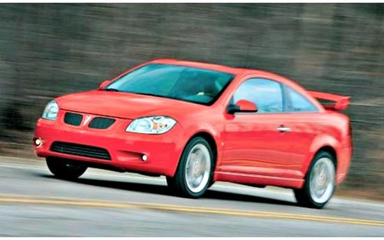 The 2007 Pontiac G5 is among the 1.4 million GM cars being recalled.