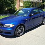 2013 BMW 135 si, driver's side