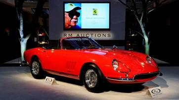 Rare 1967 Ferrari sells for record $27.5 million