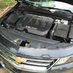 The 2014 Chevy Impala has a standard V6 engine