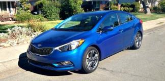 The 2014 Kia Forte is redesigned with a sportier appearance.