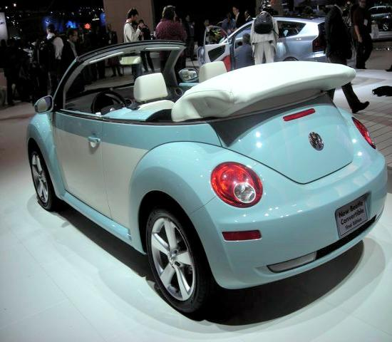 The newly designed 2013 VW Beetle at the 2012 LA Auto