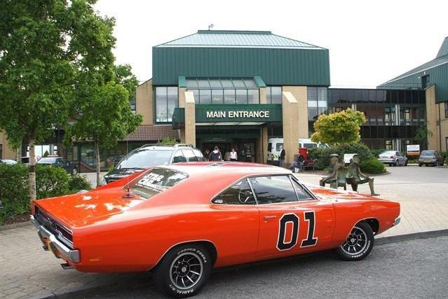 Bubba Watson's 1969 Dodge Charger.