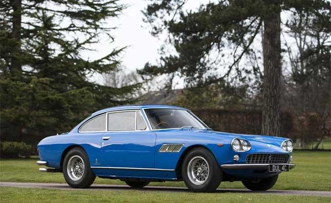John Lennon's rare Ferrari and his first ticket to ride set for Bonhams auction