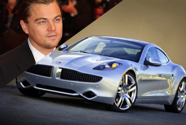 Leonardo DiCaprio owns at Tesla Roadster, Fisker Karma and Toyota Prius.