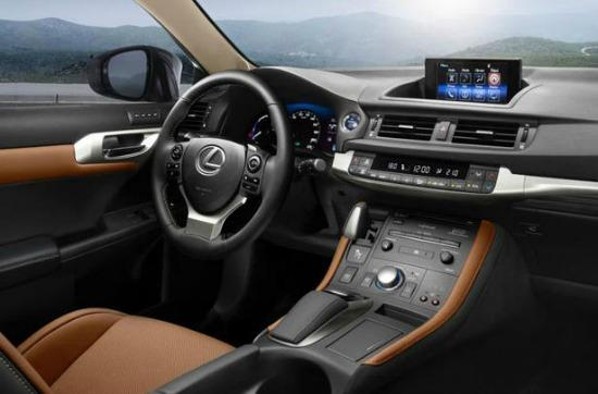 The 2014 Lexus 200h is the luxury brand's least expensive car.