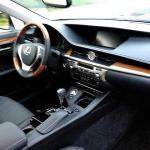 The interior of the 2015 Lexus ES 350 is handsome.