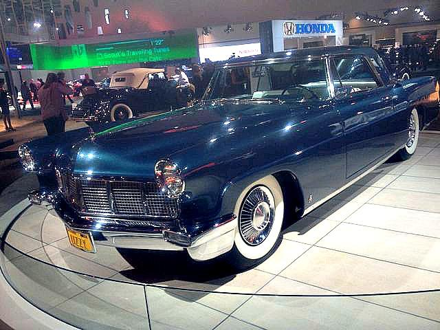 Vintage Lincoln, 2012 LA Auto Show.