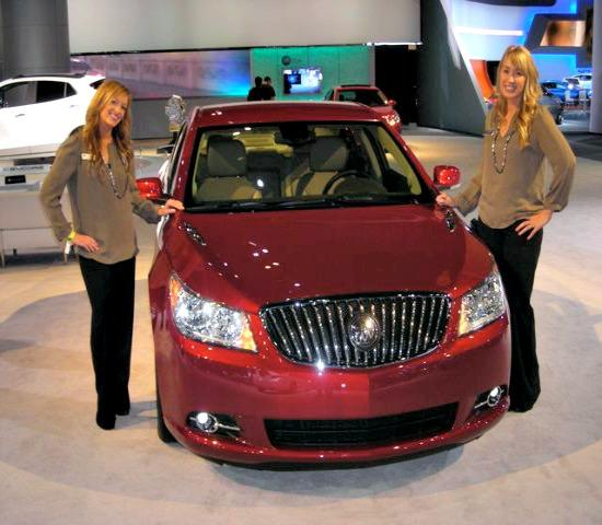 Product Specialists for Buick at the 2012 LA Auto Show.
