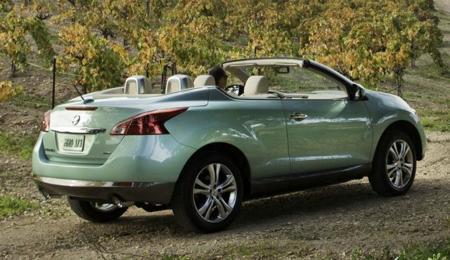 The Nissan Murano Cabriolet never caught on with the public.