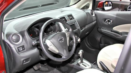 Interor of the 2014 Nissan Versa Note