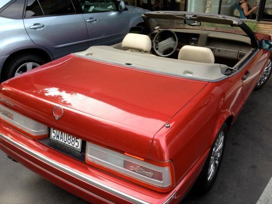 Rare Used Cars: 1993 Cadillac Allanté