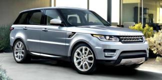 2014 Land Rover Range Rover Sport.