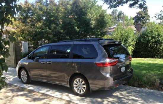 Practicality is the key for the 2013 Toyota Sienna.