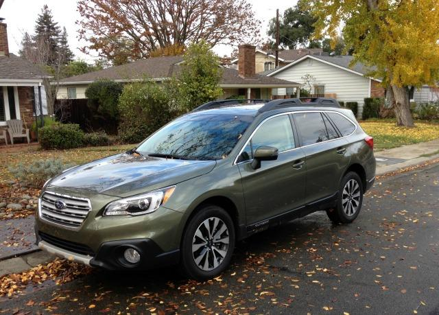 2015 Subaru Outback: Safe, rugged, versatile 1