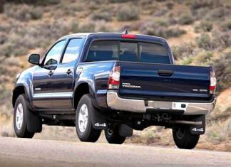 The 2014 Toyota Tacoma features a refreshed look.
