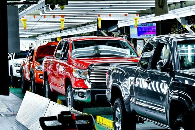 Toyota makes trucks cleanly, quietly, quickly in Texas 3
