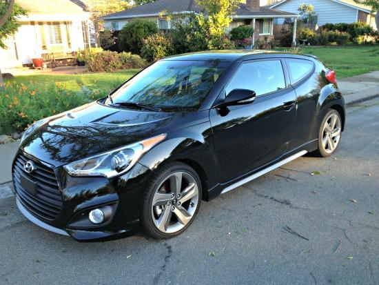 Hyundai added a turbocharged engine to the Veloster for 213