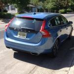 The 2015 Volvo V60 T5 has an east-to-access hatchback.