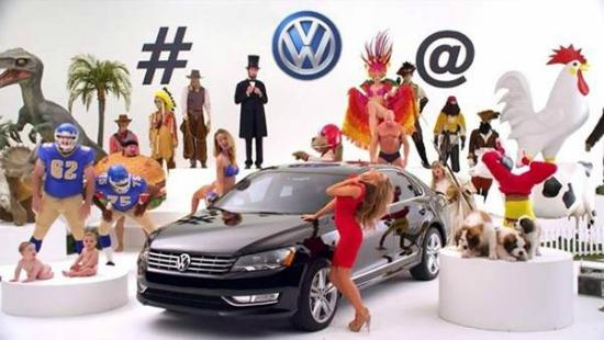 The VW Super Bowl Commercial tease featuring Carmen Electra.