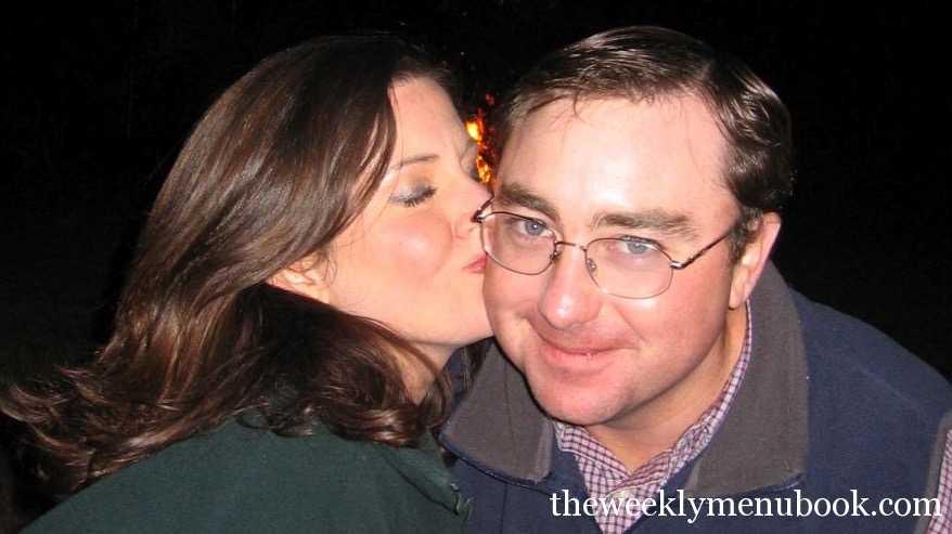 Brett & Deana Evans from the weekly menu blog