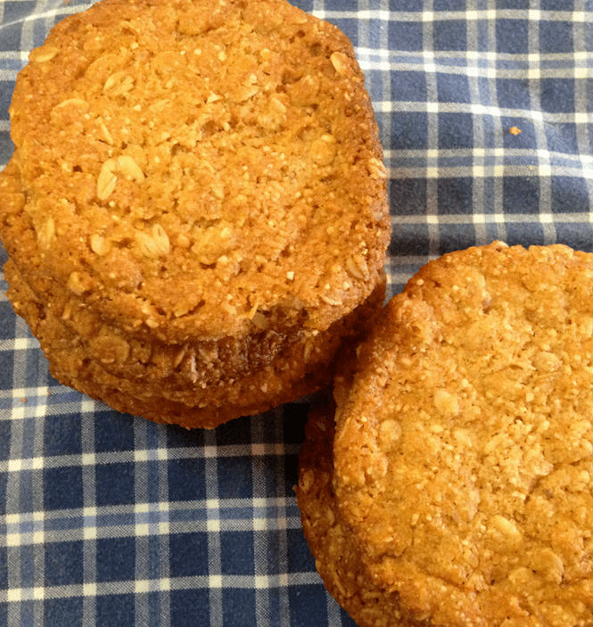 Gluten-Free Orange Marmalade Oatmeal Cookies