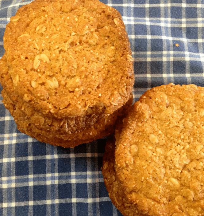 orange marmalade oatmeal cookies