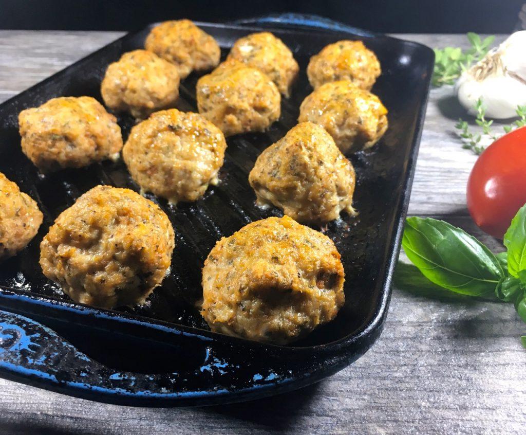 gluten-free, dairy-free meatballs