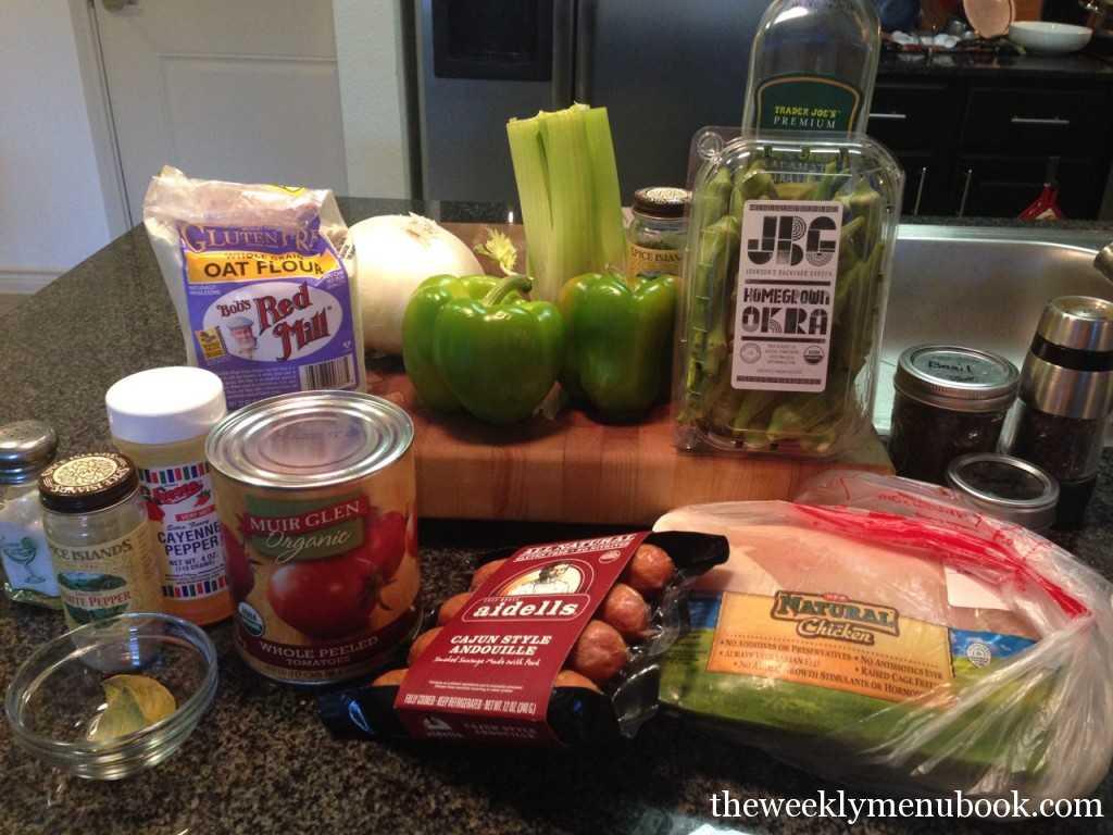 Gluten-Free Chicken Andouille Sausage Gumbo