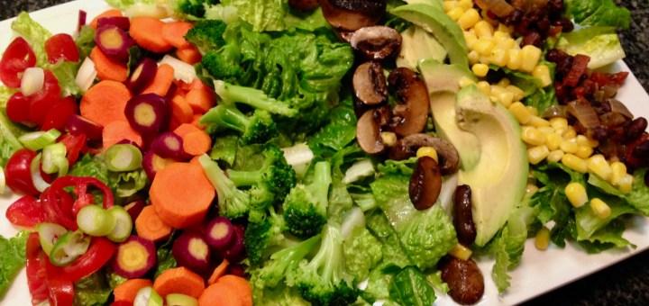 Slad Prep for Steak Salad