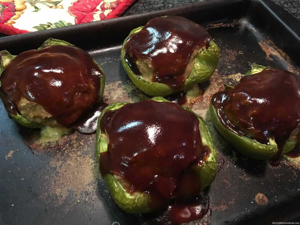 Healthy Meatloaf Stuffed Peppers 2