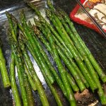 Oven Roasted Mesquite Smoked Asparagus