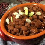 homemade gluten-free ranch style beans