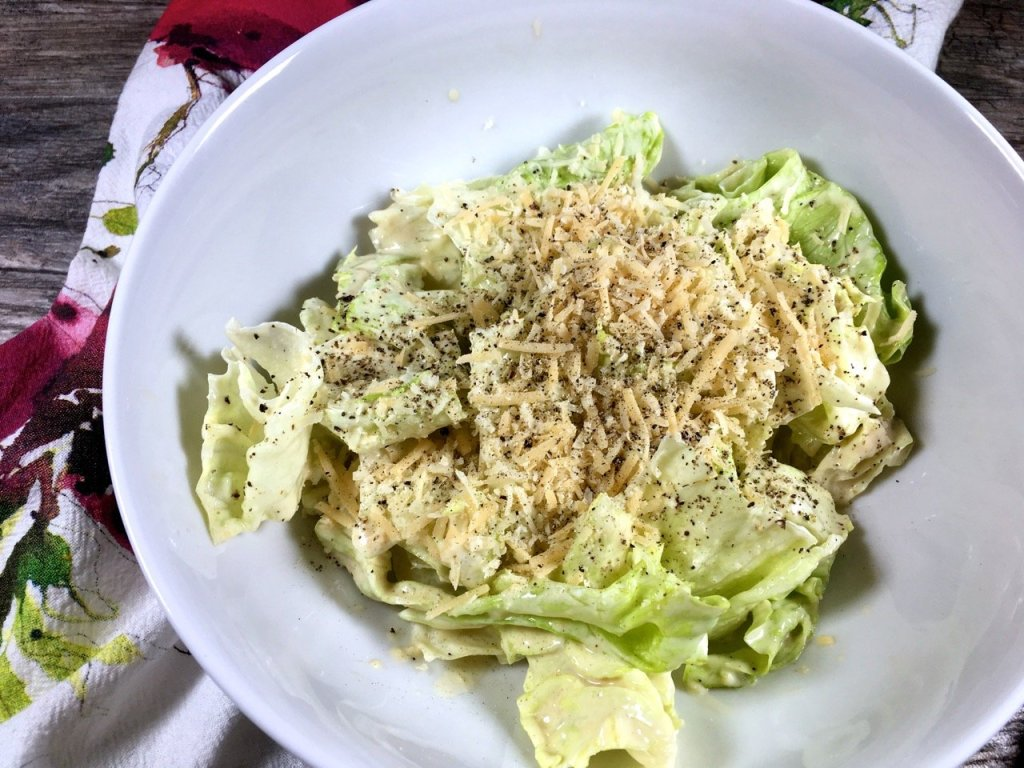 Homemade Mayo Caesar Salad