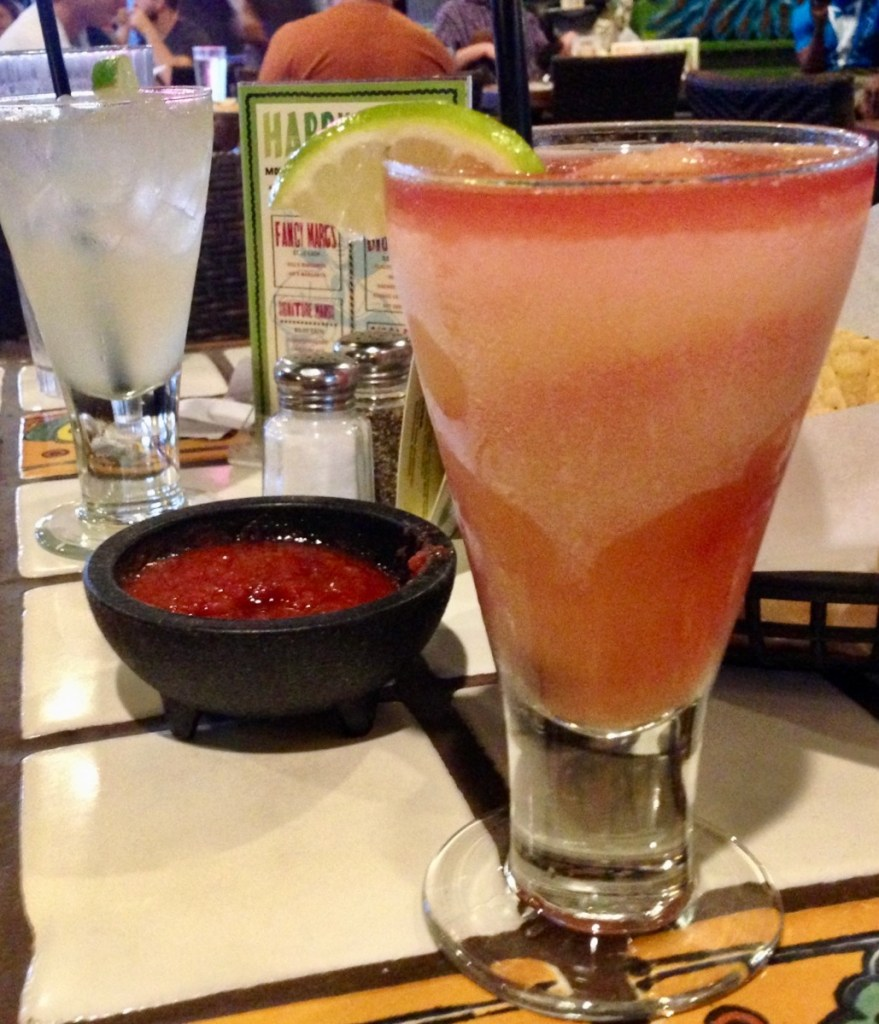Austin gluten-free restaurants - frozen margaritas at happy hour