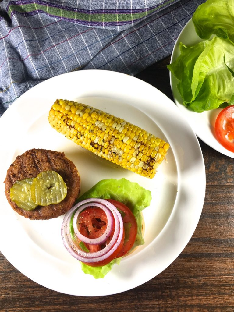 Gluten-Free Meatless Grilled Burgers