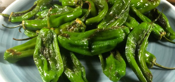 Shishito Peppers and Spiked Chipotle Mayo