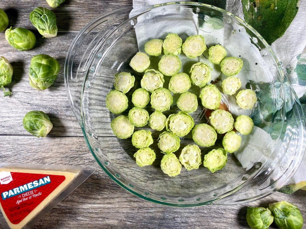 Gluten-free Parmesan Brussels Sprouts