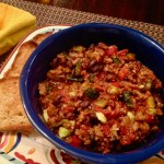 turkey and veggie chili